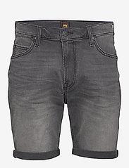 Lee Jeans - RIDER SHORT - farkkushortsit - moto worn in - 1