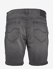 Lee Jeans - RIDER SHORT - farkkushortsit - moto worn in - 2