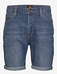 Lee Jeans - RIDER SHORT - denim shorts - hawaii mid - 0