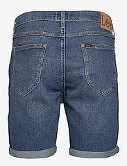 Lee Jeans - RIDER SHORT - denim shorts - hawaii mid - 1