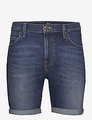 Lee Jeans - RIDER SHORT - denim shorts - maui dark - 0