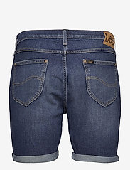 Lee Jeans - RIDER SHORT - denim shorts - maui dark - 1