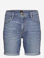 Lee Jeans - RIDER SHORT - denim shorts - maui light - 0