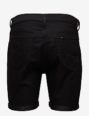 Lee Jeans - RIDER SHORT - farkkushortsit - black rinse - 1