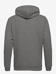 Lee Jeans - PLAIN HOODIE - hoodies - dark grey mele - 1