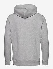 Lee Jeans - PLAIN HOODIE - basic sweatshirts - grey mele - 1