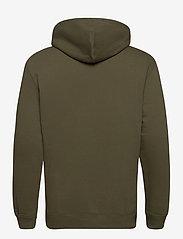 Lee Jeans - PLAIN HOODIE - basic sweatshirts - olive green - 1