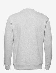 Lee Jeans - PLAIN CREW SWS - basic sweatshirts - grey mele - 1