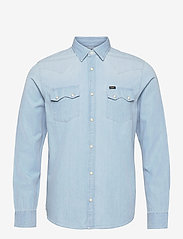 Lee Jeans - LEE RIDER SHIRT - basic shirts - summer blue - 0