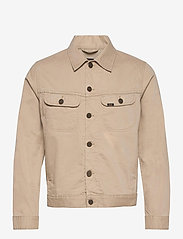 Lee Jeans - SERVICE RIDER JKT - denim jackets - service sand - 0