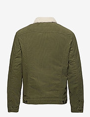 Lee Jeans - SHERPA JACKET - denim jackets - olive green - 2