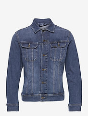Lee Jeans - SLIM RIDER - denim jackets - mid visual cody - 0