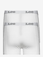 Lee Jeans - 2-PACK TRUNK - boxers - white - 1