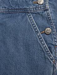 Lee Jeans - BIB SHORT - buksedragter - light trashed - 6
