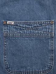 Lee Jeans - BIB SHORT - buksedragter - light trashed - 7
