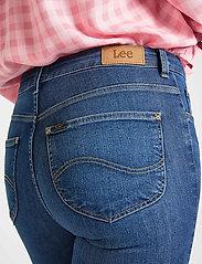 Lee Jeans - SCARLETT HIGH ZIP - slim jeans - mid candy - 6