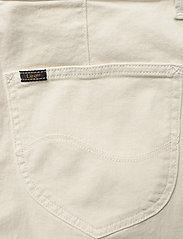 Lee Jeans - CROPPED A LINE FLARE - szerokie dżinsy - buttercream - 4