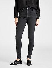 Lee Jeans - IVY - slim jeans - washed black - 0