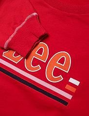 Lee Jeans - LOGO SWS - sweatshirts - warp red - 2