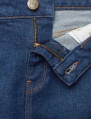 Lee Jeans - PENCIL SKIRT - denimskjørt - dark garner - 3