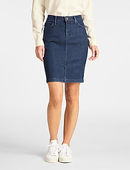 Lee Jeans - SKIRT - jeansowe spódnice - tonal stonewash - 0