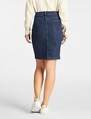 Lee Jeans - SKIRT - jeansowe spódnice - tonal stonewash - 3