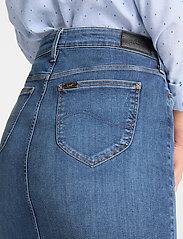 Lee Jeans - PENCIL SKIRT - denimskjørt - used foam - 4