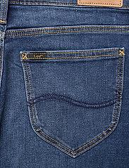 Lee Jeans - Pencil Skirt - jeanskjolar - dark len - 4