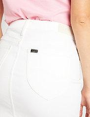 Lee Jeans - MID SKIRT - denimskjørt - rinse - 4