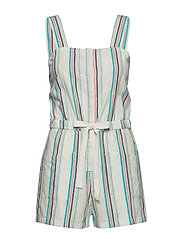 CAMI PLAYSUIT - BRIGHT WHITE