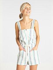 Lee Jeans - CAMI PLAYSUIT - buksedragter - bright white - 0