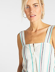 Lee Jeans - CAMI PLAYSUIT - buksedragter - bright white - 4