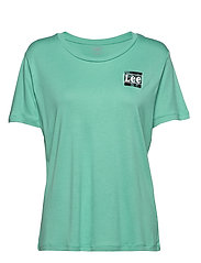 RELAXED FIT TEE - AGATE GREEN
