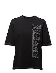 SEASONAL LOGO T - FADED BLACK