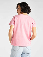 Lee Jeans - GARMENT DYED TEE - t-shirts - la pink - 3