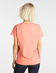 Lee Jeans - CREW NECK TEE - t-shirts - paprika - 3