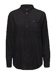 ONE POCKET SHIRT - PITCH BLACK