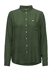 ONE POCKET SHIRT - NEW ARMY GREEN