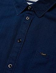 Lee Jeans - ONE POCKET SHIRT - langermede skjorter - oil blue - 2