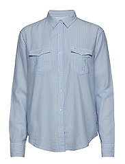 RELAXED WESTERN - HEATHER BLUE