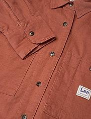 Lee Jeans - WORKER SHIRT - denim shirts - burnt ocra - 2