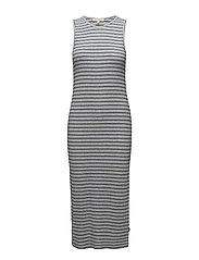 JERSEY DRESS - SHARP GREY MELE