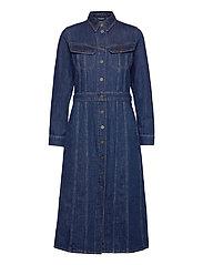 LONGSLEEVE DRESS - RINSE