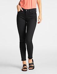Lee Jeans - SCARLETT - skinny jeans - black rinse - 0
