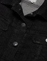 Lee Jeans - SLIM RIDER - jeansjakker - black orrick - 2