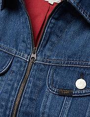 Lee Jeans - ZIP CROPPED RIDER - jeansjakker - belleville - 2
