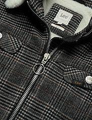 Lee Jeans - WOOL CHECK SHERPA JK - wełniane kurtki - khaki - 2