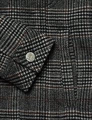 Lee Jeans - WOOL CHECK SHERPA JK - wełniane kurtki - khaki - 3