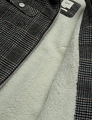 Lee Jeans - WOOL CHECK SHERPA JK - wełniane kurtki - khaki - 4