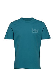 GRAPHIC TEE - FADED GREEN